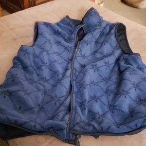Jackets & Blazers - Womans Rain and Fleece Vest